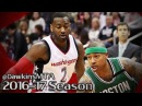 John Wall vs Isaiah Thomas PG Duel 2017 ECSF Game 6 - IT With 27, 7 Ast, Wall With 26, 8 Ast!