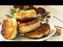 Рецепт оладушек. Как приготовить дрожжевые оладьи. pancakes.