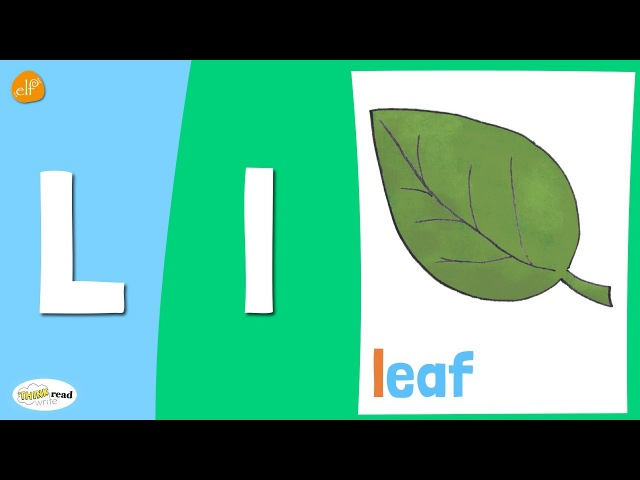 Letter L Practice | Phonics and Vocabulary | Think Read Write | ELF Learning