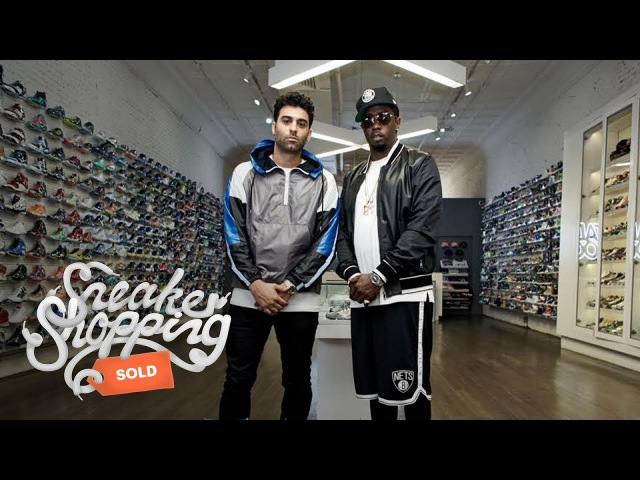 Sean Diddy Combs Goes Sneaker Shopping With Complex