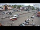 Пошел на обгон и сбил пешехода ДТП Бийск 8 05 17 (Barnaul22)