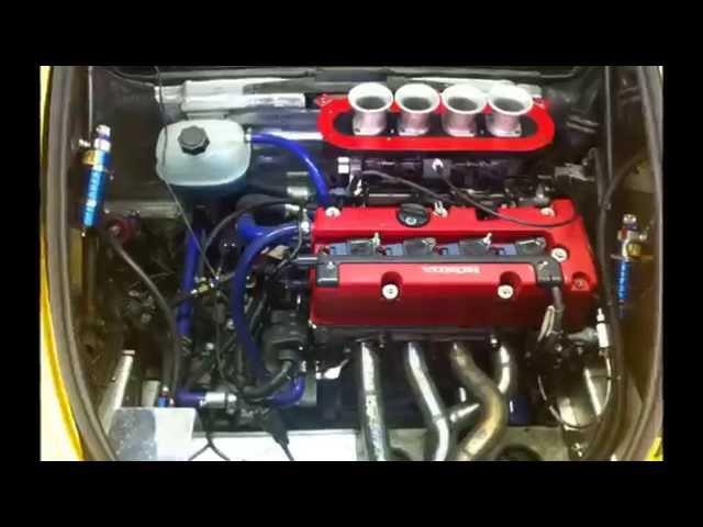 Lotus Exige S1 Honda K20 Swap ITB