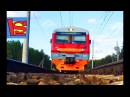 СКОРОСТНЫЕ ПОЕЗДА железная дорога Москва Казань Железнодорожный переезд новог