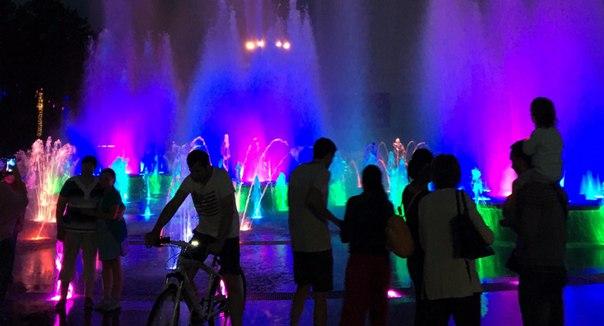 Расписание пешеходного фонтана в Хабаровске