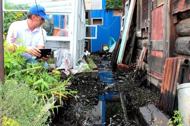 Огород пенсионерки с Красной речки стал местом экологической катастрофы