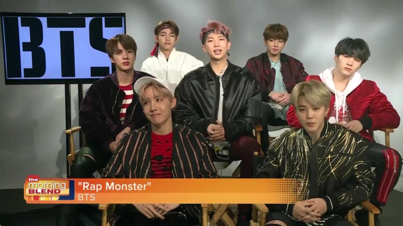 [INTERVIEW] 170328 BTS на The Morning Blend @ FOX 4 Now News, США