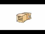 9Б Мои одноклассники скатываются в коробку :D
