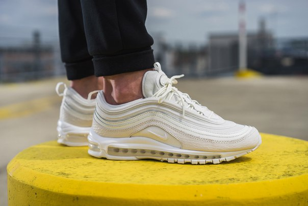 An On-Feet Look at the Nike Air Max 97 'White Snakeskin'
