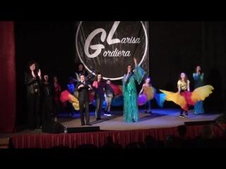 Сюжет о концерте Ларисы Гордъеры