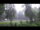 Ливень 21 июля на юго-западе Московской области