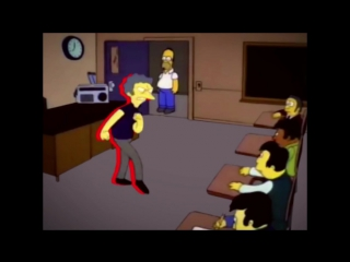 Persona 5 vs The Simpsons