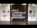 IPSAF WORLD CHAMPIONSHIP POLE SPORT 2016 FLORENCE (Finals) - Diana Bokhan (Russia)