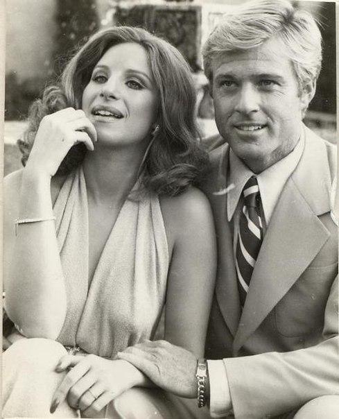 Какими мы были, режиссер Сидни Поллак, Барбара Стрейзанд и Роберт Редфорд, 1973 г ETWBqQnu0vY
