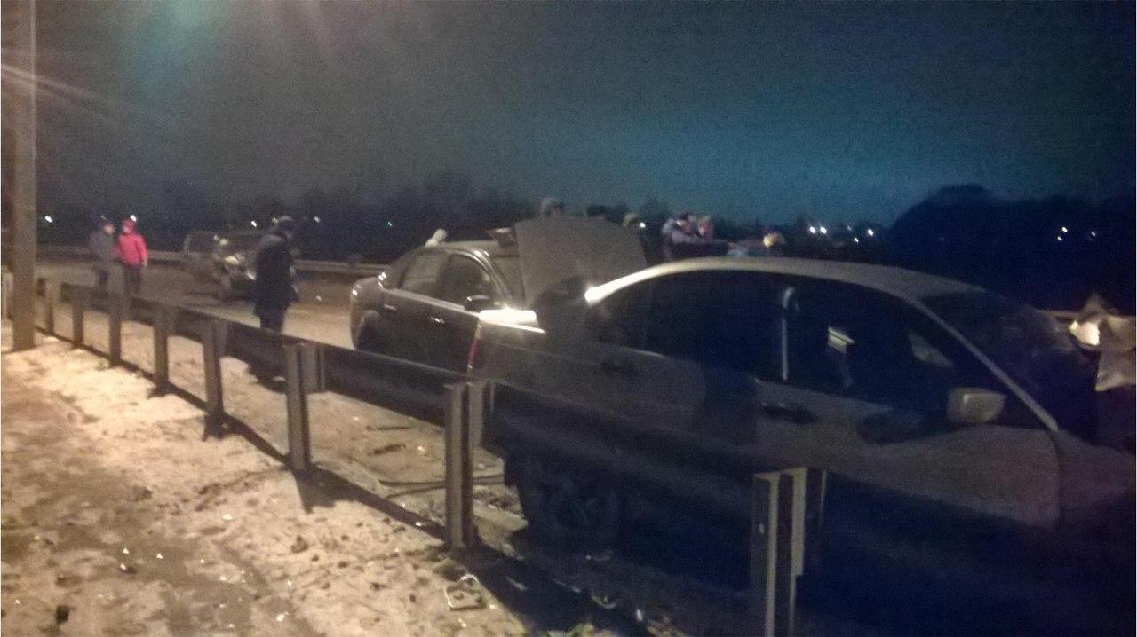 ВКурске втройном столкновении умер 28-летний мужчина