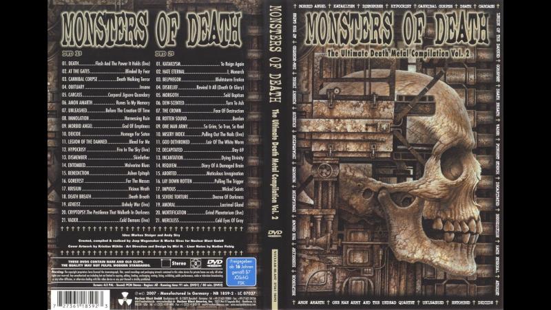 OBMOROCK - ,,Monsters of Death Vol.2 DVD1,, (2006)