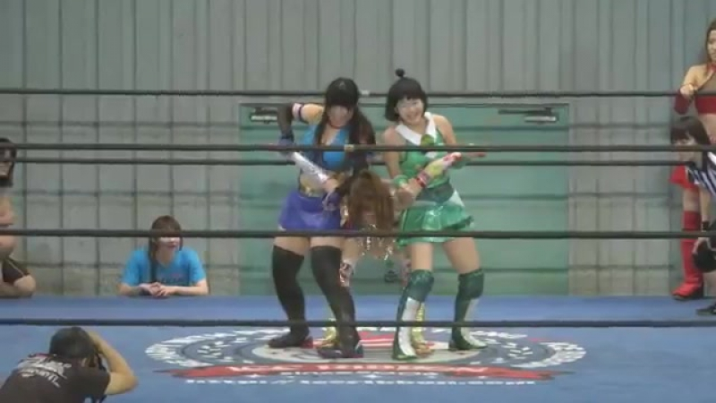 Karen DATE, Maika Ozaki vs. Kyuri, Nori DATE vs. Maruko Nagasaki, Tsukasa Fujimoto (Ice Ribbon - NIR 824 ~ Ueno Ribbon 3)
