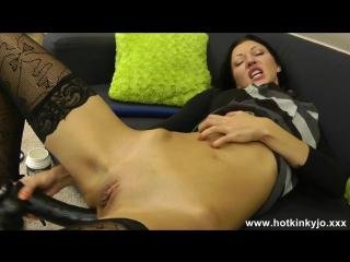 Messy bbw anal tube