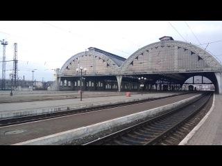 Пустой вокзал города-милионника. Empty station neighborhood with a million inhabitants