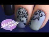 САМЫЕ ПРОСТЫЕ ВЕНЗЕЛЯ В МИРЕ :) Дизайн ногтей Дотсом на гель лаке. Легкий маникюр ...