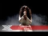 Saara Aalto gets pulses racing with My Heart Will go on  Live Shows Week 7  The X Factor UK 2016