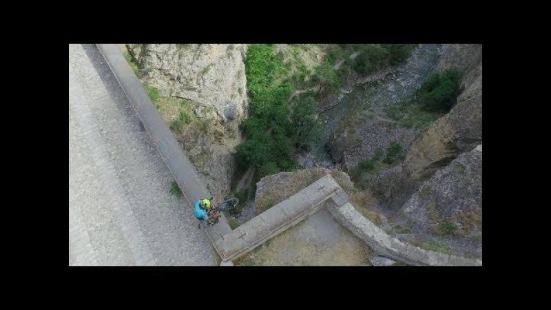 100 Vittorio Brumotti - Briancon bridge Tour de France
