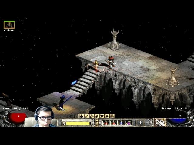 Diablo 2: LoD - Прохождение за Амазонку [Hardcore] 2 акт, 3 часть 6