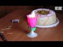 китайская свеча цветок с музыкой ОСТОРОЖНО У нас ПОЖАР