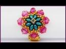 DIY | Perlenring | Schmuck | Beaded ring with Twin beads | Jewelry Beadwork