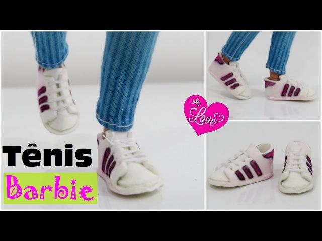 Tênis Adidas para Barbie e Suas Amigas com E.V.A.