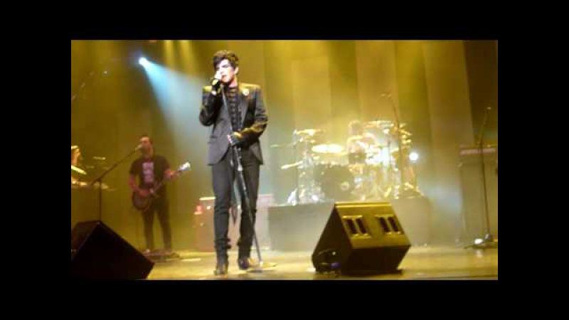 Adam Lambert - Music Again (partial) - Red Robinson Show Theatre - Vancouver, BC - April 8, 2010