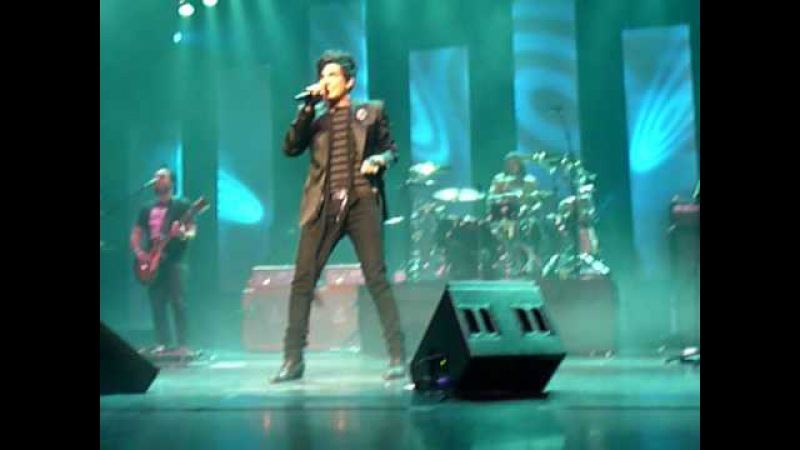 Adam Lambert - Strut - Red Robinson Show Theatre, Vancouver, BC - April 8, 2010
