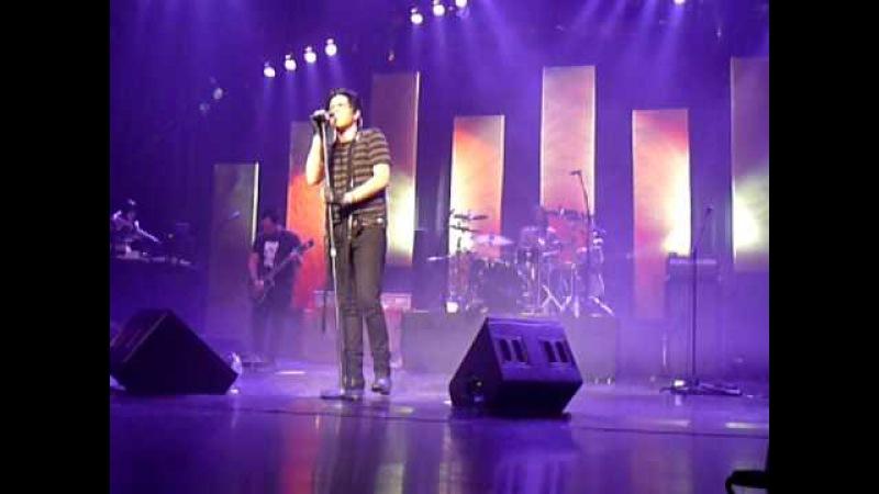 Adam Lambert - A Loaded Smile - Red Robinson Show Theatre, Vancouver, BC - April 8, 2010