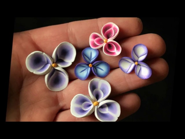 Polymer Clay Flower Petal Cane Tutorial