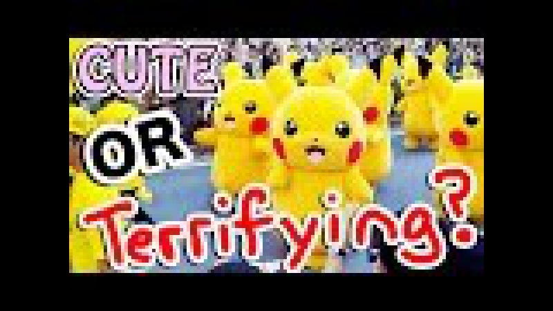 PIKACHU PARADE in Japan 2016!|CUTE or TERRIFYING? [Pikachu Outbreak]