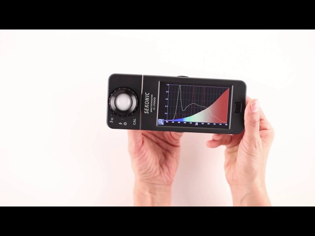 Sekonic SpectroMaster C 7000 Quick Start Video
