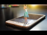 Photoshop Tutorial 3D pop out effect (Dancing Girl photo)