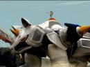 Rhino Zord and Rhino Steel Megazord First Scene Power Rangers Jungle Fury Rhino Ranger