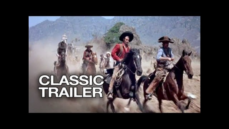 The Magnificent Seven Official Trailer 2 - Charles Bronson Movie (1960) HD