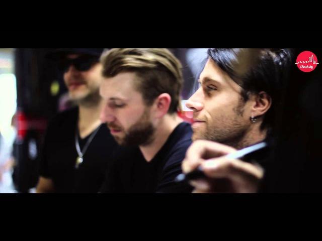 Видео-отчет: Three Days Grace в iZvuk.by и iDJ.by 20/09/2014 г. ( видео концерта)