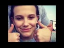 Millie Bobby Brown and David Harbour | INSTAGRAM VIDEO 22.03.2017