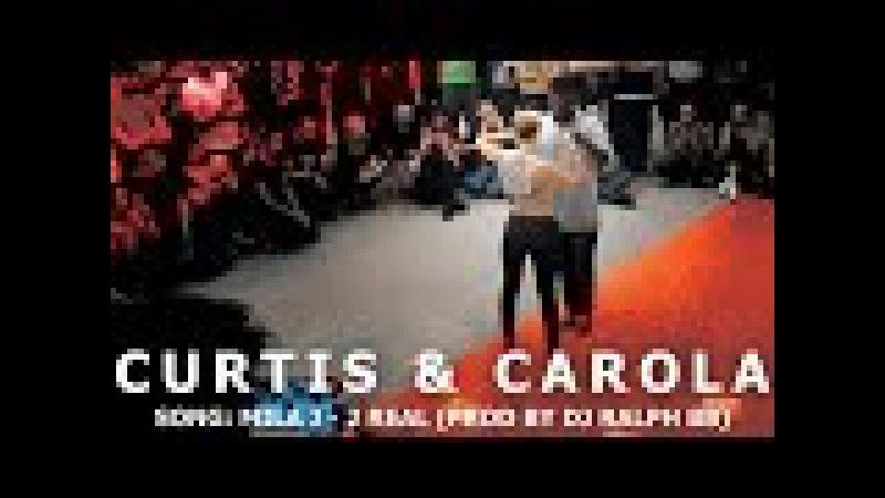 Mila J 2 Real Curtis Carola Urban Kiz Dance @ KIZMI Kizomba Festival 2016