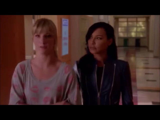 Glee Santana calls Brittany her lady knight in shining armour 6x06