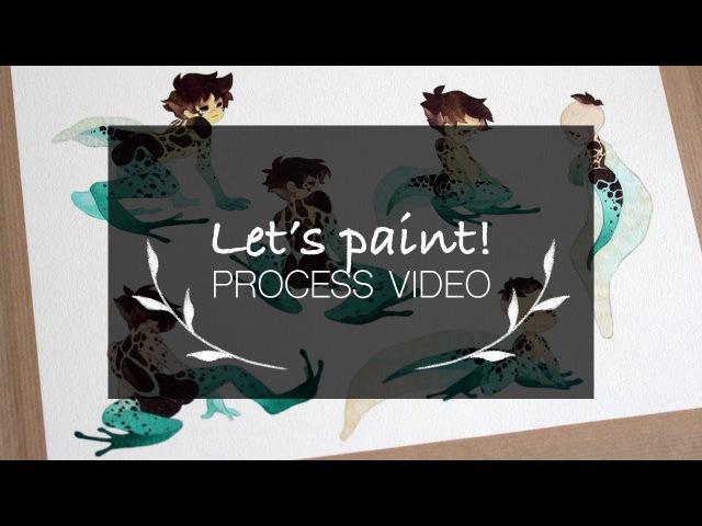 Let's paint 01 Anura Fraga