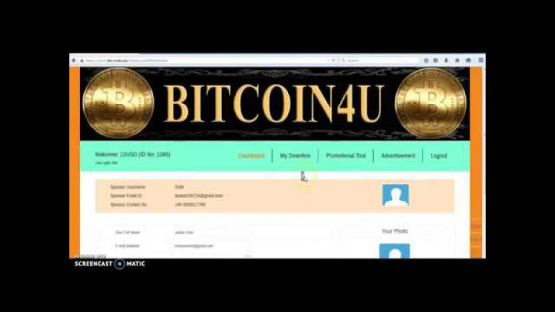 Bitcoin4u revew and register