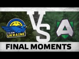 WATCH FIRST: Final Moments - Team Ukraine vs Alliance @ WESG Play-Off