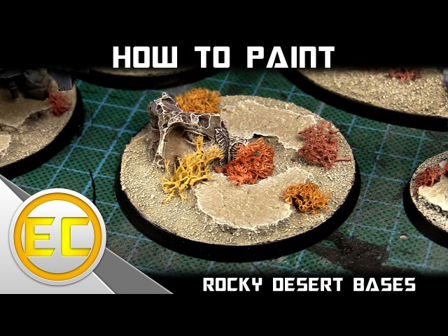 How To Paint: Rocky Desert Bases MKII 1080p