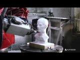Lithias Julius Caesar Bust Machining