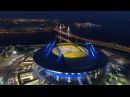 Зенит Арена 4к видео