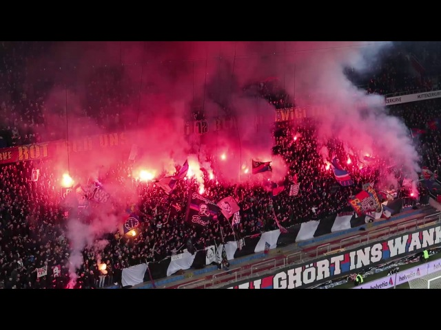 FC Basel - FC Zürich 3:1   Stadion-Atmosphäre