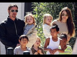 Дети Джоли и Питта не выносят друг друга